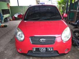 Kia picanto cosmo 2010/mt ,merah