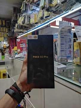 Poco X3 pro 6/128 garansi resmi 15 bulan