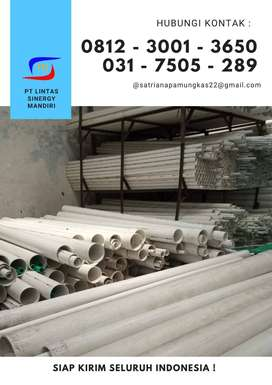 Pipa PVC RUCIKA STANDARD AW 1/2″ sampai 12″ Murah Ready