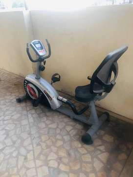 With Back support home Gym excercise cycle Magnetic Nagotiable