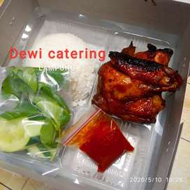 Terima nasi kotak & catering bulanan