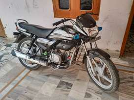 hero deluxe dual brake.5 years full beema.Rc. Govt number .80 km /L