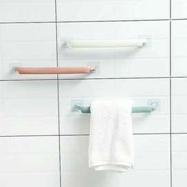 gantungan handuk plastik Tanpa Paku