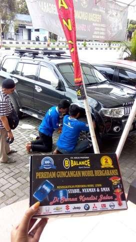 BALANCE Peredam Guncangan Mobil, Bergaransi 2 Tahun dan Bersertifikat