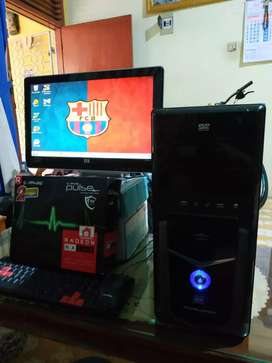 PC Core i5 Gaming Rendering fullset, Vga RX550 up 8gb ddr5