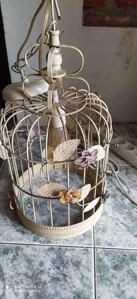 Di jual Cepat Lampu Gantung Sangkar Burung