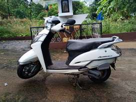 Honda activa 2015 model with 10100 km with new tyres and new battery