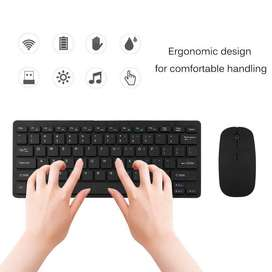 Online New Arrival Mini 2.4G Wireless Keyboard And Mouse Combo Set For