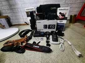 Jual cepatt kamera canon EOS M3 (butuh duit segera) minat langsung WA