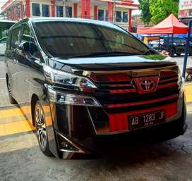 New Vellfire Face Lift G ATPM NIK 2018 Reg 2019 Antik