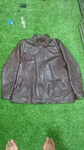 Jaket kulit pacita ukuran xl