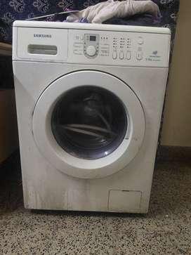 Samsung front 5.5kg washing machine