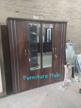 Four door wardrobe available