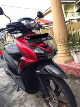 Mio GT 2013 merah hitam
