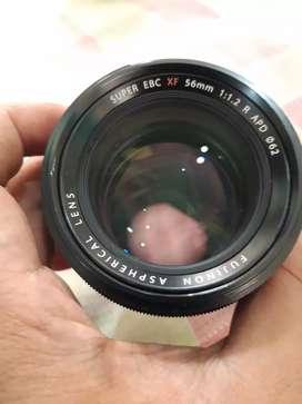 Lensa fujifilm fujinon XF 56mm 56 mm f1.2