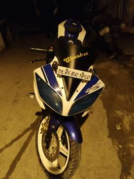 R15 2015 Bike Good condition Fast Owner 75000 Rs.