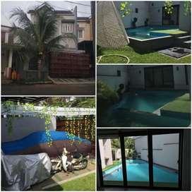 Dijual rumah 2lantai  swimming pool nirwana golden park cibinong bogor