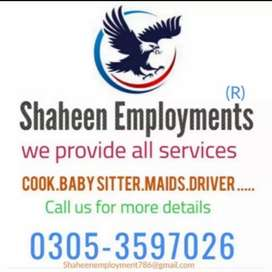 Cook Maid Drivers Baby Sitter Patient Care Helper Office Boy Avail her