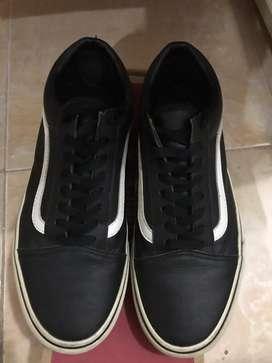 Sepatu Vans Old Skool Classic Tumble Ori