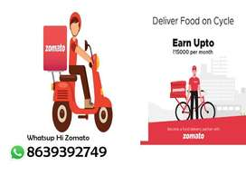 Food delivery jobs with bike or cycle