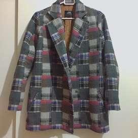 Blazer Tweed Tartan