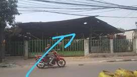 Di Sewakan Lahan/Gudang Lokasi Strategis Pinggir Jln Raya Tipar Cakung