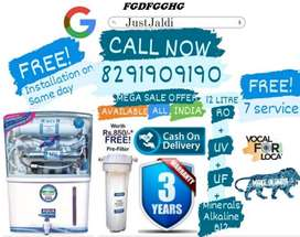 FGDFGGHG RO Water Purifier Water Filter Water Tank TV DTH.   Free Fitt
