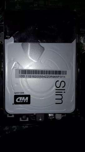 """1TB wd black 2.5"""" slim HDD"""