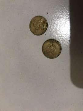 Uang Koin 50 Komodo unik lucu