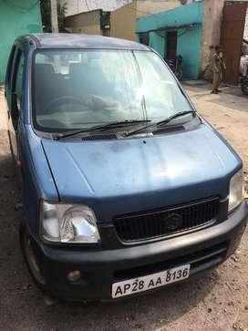 Maruti Wagon R LX, Petrol, Single Hand driven, Well Maintained