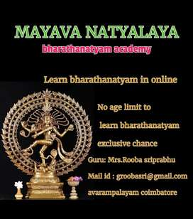 Online and direct bharathanatyam class conducted