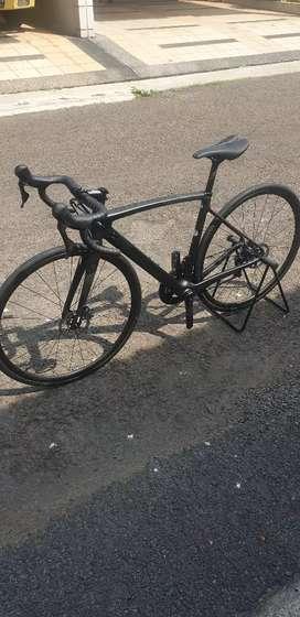 Roadbike Polygon Strattos S8 Black 2021 Size M Like New