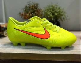 Football Shoes Tempo 2020 Yellow with red color swoosh