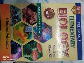 Trueman's Biology book for 11&NEET preps