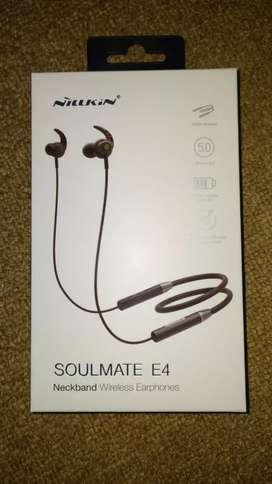 Nillkin Neckband wireless earphone soulmate E4 baru segel