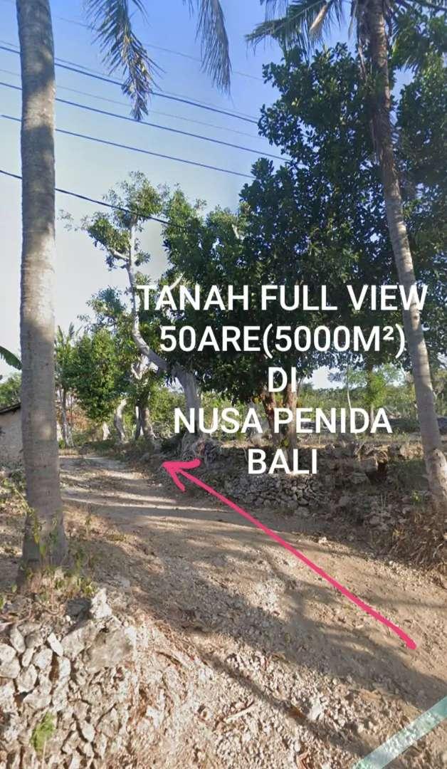 Tanah 50are FULL VIEW LAUT,GUNUNG,LEMBAH di NUSA PENIDA Klungkung Bali