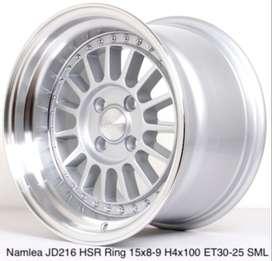 HSR R15X8/9 H4x100 ET30/25 SML