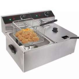 Imported Dual Tank 12L Professional Deep Fryer for fries zinger etc