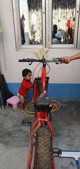 Sport fat tyre shimano bycyle