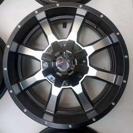 Jual velg murah ring 20x9.0 h6x139.7 et20 bisa untuk Pajero Hilux MU-X