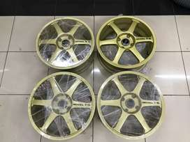 Velg Yokohama Advan T6 Ring 17 Original Made In Japan Muluzz!!