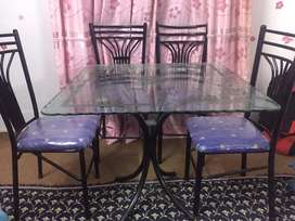 Dinning Table With Chairs Very Good Condition