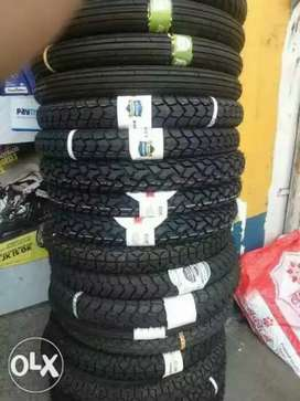 Tyre tube for all 2wheeler at less price.Discount available all brands