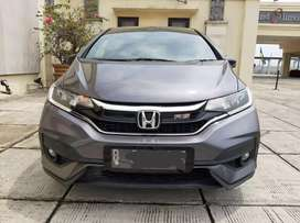 Honda Jazz RS cvt 1.5 At 2018 Abu Facelift Low km Kondisi Terawat