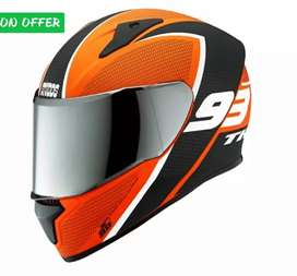 Thunder Studes helmet KTM or other quality bikes like Apache, RX,Pluse