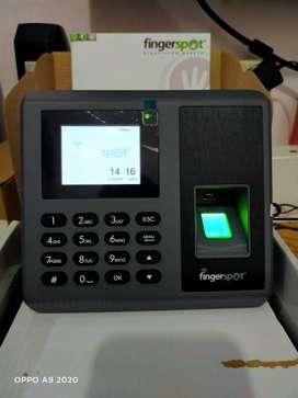 Absensi sidik jari fingerspot WD-203BNC support Doorlock & wifi