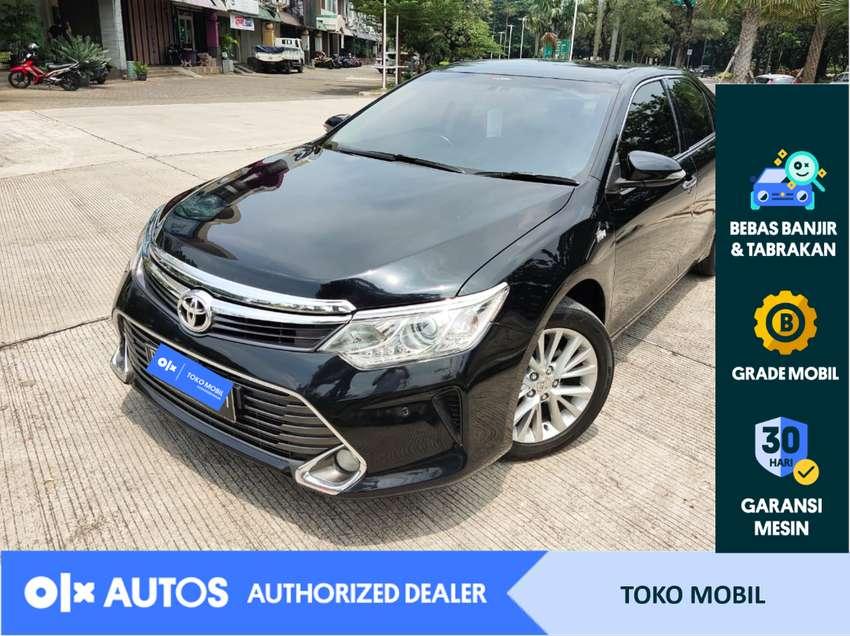 [OLXAutos] Toyota Camry 2016 2.5 V A/T Hitam #Toko Mobil