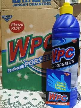 Pembersih kamar mandi Wings WPC Porselen  Gratis Sarung Tangan