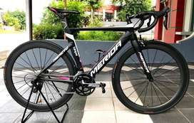 MERIDA REACTO 400 roadbike cantik mulus like new