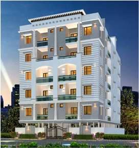 1280 sft 3BHK Flats are available for sale at MIGH Colony, Mehdipatnam